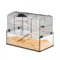 Клетка для грызуна стекло + металл 51 х 29 х 40cm