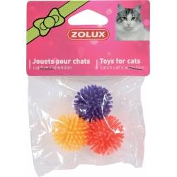 Игрушка для кошек шарик 4 см x 3шт