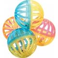 Игрушка для кошек шарик 4 см х 4шт