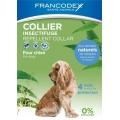 Francodex натуральный ошейник от насекомых для собак 10-20 кг - 60 см