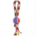 Игрушка резина-веревка с ручкой 23 см